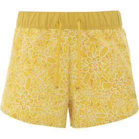 The North Face Class V Mini Shorts Damen bamboo yellow/floral block print